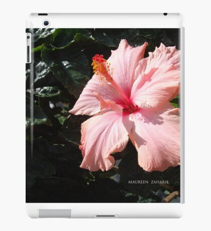 flower peach iPad Case/Skin