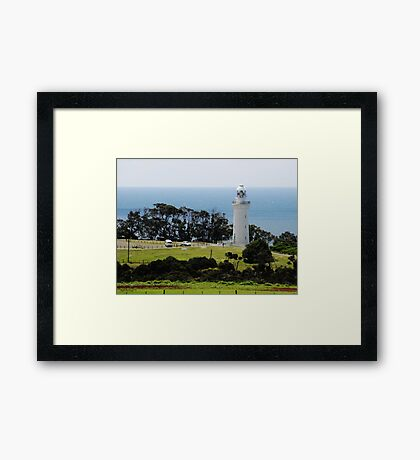 Lighthouse at Table Cape Framed Print