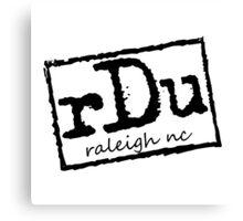 RDU (Raleigh) - NWO T-Shirt Canvas Print