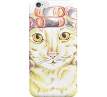 Purrfect   Pampering  iPhone Case/Skin