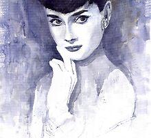 Audrey Hepburn  by Yuriy Shevchuk