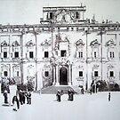 Auberge de Castille-Valletta by Joseph Barbara