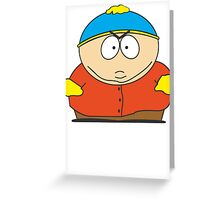 Cartman Drawing Greeting Card