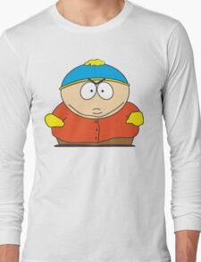 Cartman Drawing Long Sleeve T-Shirt