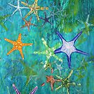 Starfish 2 - card by Margo Humphries