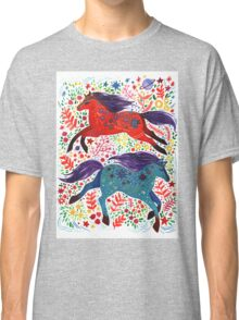 A Horse of Red and Blue Classic T-Shirt