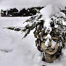 Winter angel by astrolabio