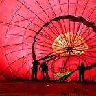 Red Balloon by Alain Turgeon