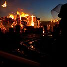 Fire at Visy Paper Mill Tumut by John Vandeven