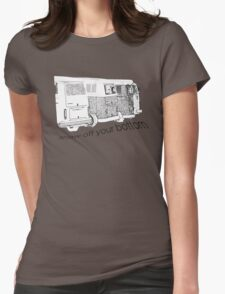 VW Kombi-bottoms - show off your bottom Womens Fitted T-Shirt