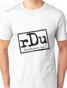 RDU (Durham) Black Unisex T-Shirt