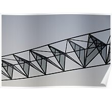 Metal structure Poster