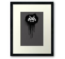 Nerd Graffiti  Framed Print