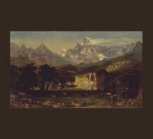 Lander's Peak - Albert Bierstadt T-Shirt