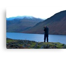 Shooting the Water at Wastwater Canvas Print