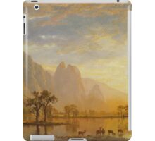 Valley of Yosemite - Albert Bierstadt iPad Case/Skin