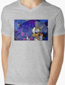 Donald Duck in Mathmagicland Mens V-Neck T-Shirt