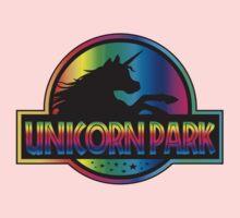 Unicorn Park Jurassic Parody T Shirt Kids Tee