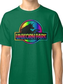 Unicorn Park Jurassic Parody T Shirt Classic T-Shirt