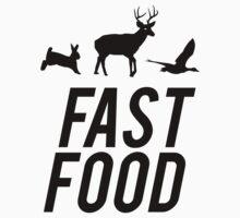 Fast Food Deer Hunter Venison by mralan