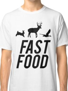 Fast Food Deer Hunter Venison Classic T-Shirt