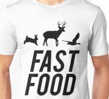Fast Food Deer Hunter Venison Unisex T-Shirt