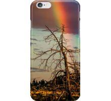 Rainbows-n-old Juniper iPhone Case/Skin