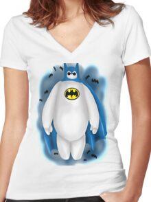 Batmax Women's Fitted V-Neck T-Shirt