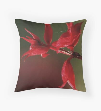 to give...  and...  to receive... Throw Pillow
