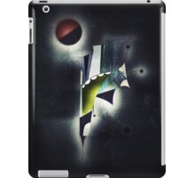 Outer Space Command Station Remixed iPad Case/Skin