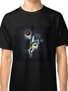 Outer Space Command Station Remixed Classic T-Shirt