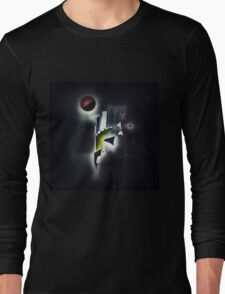 Outer Space Command Station Remixed Long Sleeve T-Shirt