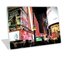 Night Lights Laptop Skin