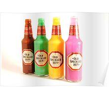 Vibrant Drinks Poster