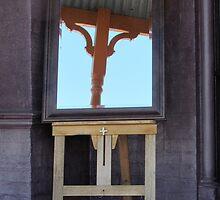 Mirror, mirror, on the veranda by Ian Ker