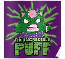 The Incredible Puff Poster