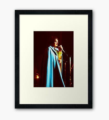 Remembering Don Van Vliet Captain Beefheart Framed Print