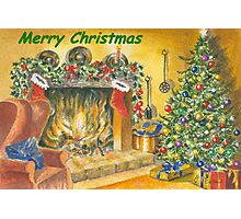 Merry Christmas to all on RB Photographic Print
