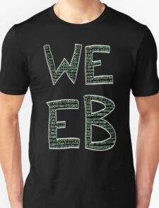 Green Binary Weeb Graphic T-Shirt