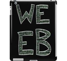Green Binary Weeb Graphic iPad Case/Skin