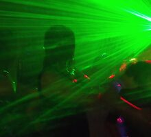 Lazer lights by ANDREW BARKE