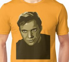 Captain Kirk with transparent background (Star Trek) Unisex T-Shirt