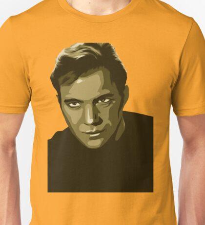 Captain Kirk with transparent background (Star Trek) Unisex T-Shirt
