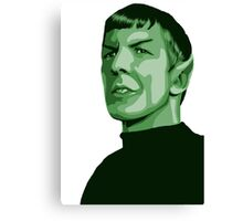 Spock with transparent background Star Trek TOS Canvas Print