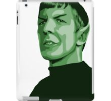 Spock with transparent background Star Trek TOS iPad Case/Skin