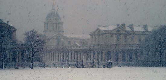 Greenwich Naval College by Karen Martin