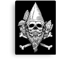 Gnome Skull Canvas Print