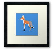 Fox Guy Framed Print