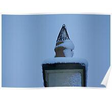 Snow Chimney Poster