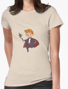 Magic!! Womens Fitted T-Shirt